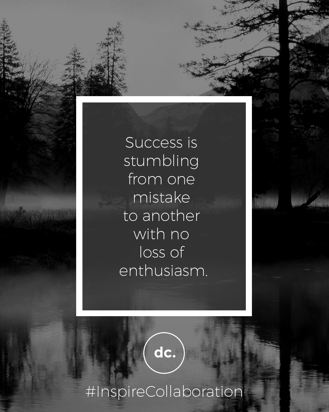 success mistakes quote dc