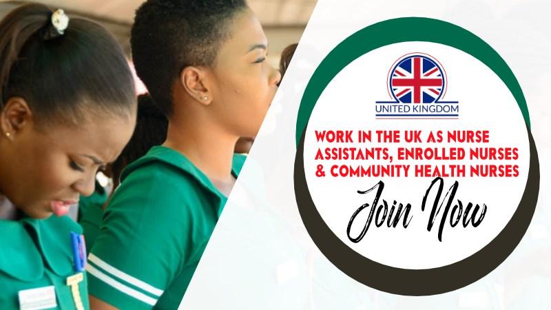 Nurse Assistants, Enrolled Nurses and Community Health Nurses: Work in the UK as Associate Nurses.
