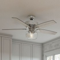39 blade standard ceiling fan with pull chain and light kit included joss & main 9