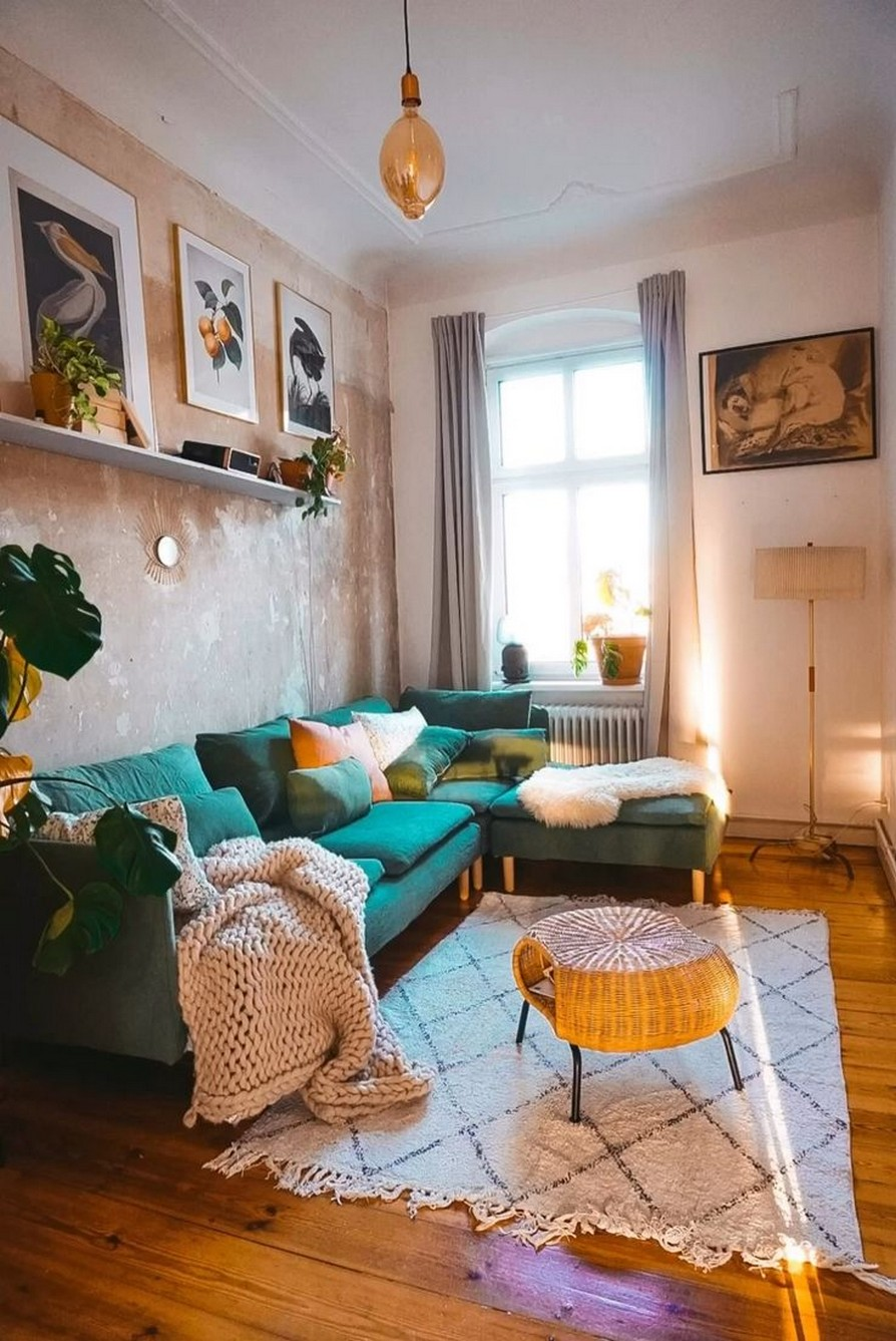 45 ideas to decorate your room with plants 19