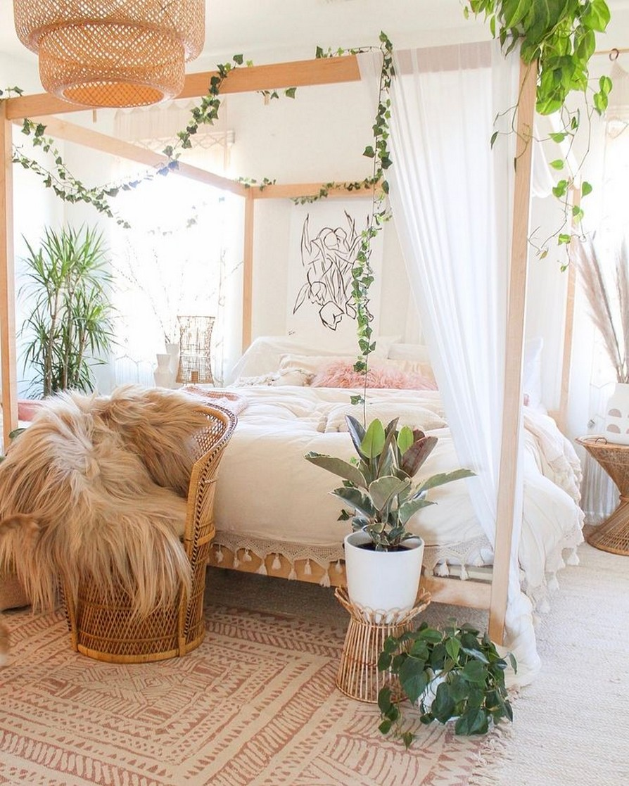 45 ideas to decorate your room with plants 2