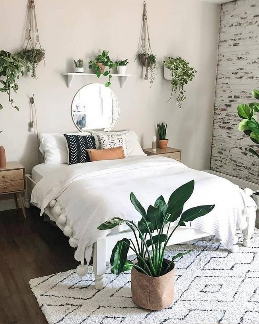 45 ideas to decorate your room with plants 25