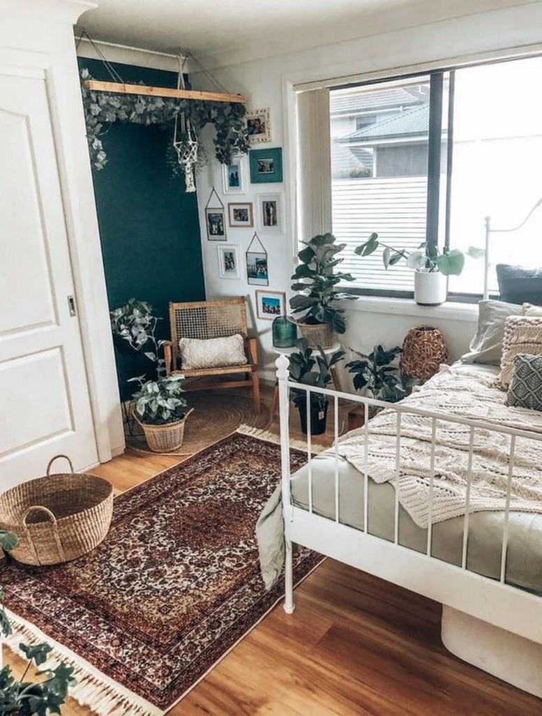 45 ideas to decorate your room with plants 27