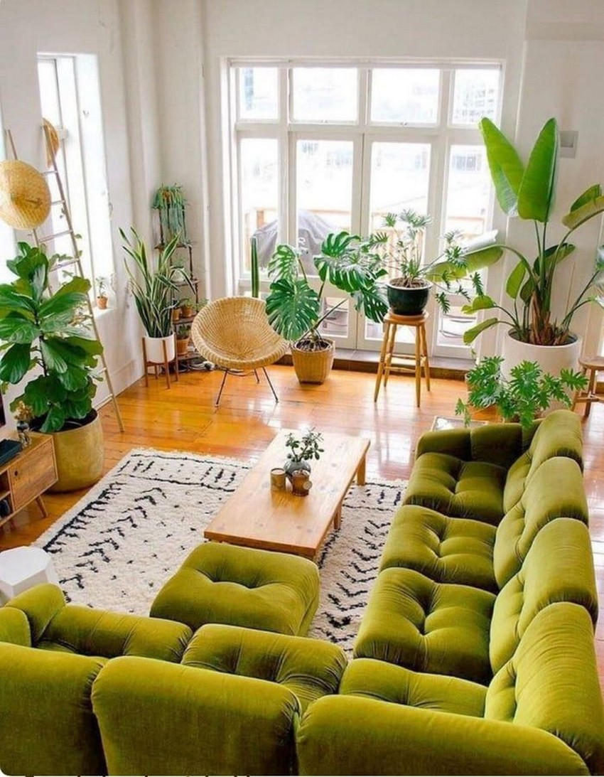 45 ideas to decorate your room with plants 34