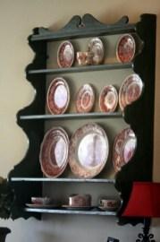 50 wall display cabinet plate racks new ideas 31
