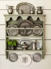 50 wall display cabinet plate racks new ideas 33