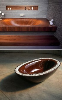 50 wooden bathtubs that send you back to nature 18