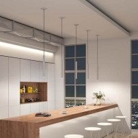55 eclairage faux plafond cuisine 13