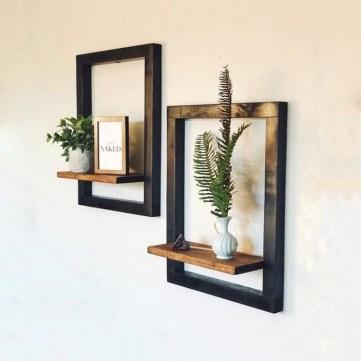 57 adorable shabby chic decor wall ideas 36