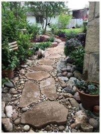 57 Impressive Front Garden Design Ideas To Try In Your Home 14