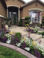 57 Impressive Front Garden Design Ideas To Try In Your Home 34