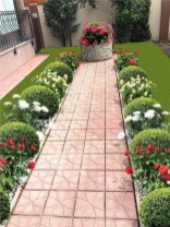 57 Impressive Front Garden Design Ideas To Try In Your Home 55