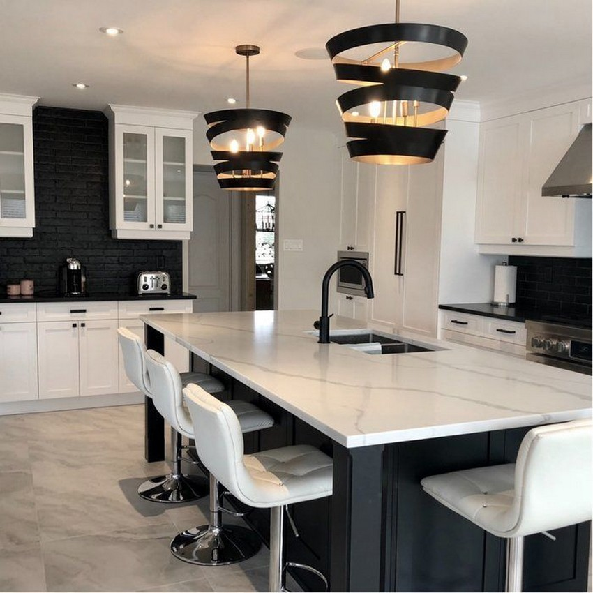 58 Kitchen Island Ideas To Add That Perfect Blend Of Drama Design Hike N Dip 56