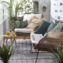 65 creative balcony design ideas with swing chair that more awesome #outdoorspace 34