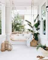 65 creative balcony design ideas with swing chair that more awesome #outdoorspace 35