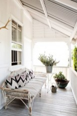 65 creative balcony design ideas with swing chair that more awesome #outdoorspace 9
