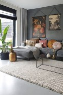 71 Inspiring Living Room Wall Decoration Ideas You Can Try 33
