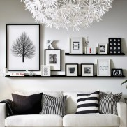 71 Inspiring Living Room Wall Decoration Ideas You Can Try 39