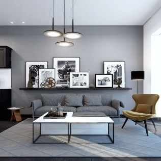 71 Inspiring Living Room Wall Decoration Ideas You Can Try 56