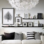 71 Inspiring Living Room Wall Decoration Ideas You Can Try 64