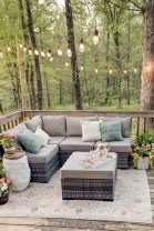 33 Classy Patio Ideas Including Furniture And Lighting 13