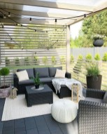 33 Classy Patio Ideas Including Furniture And Lighting 29