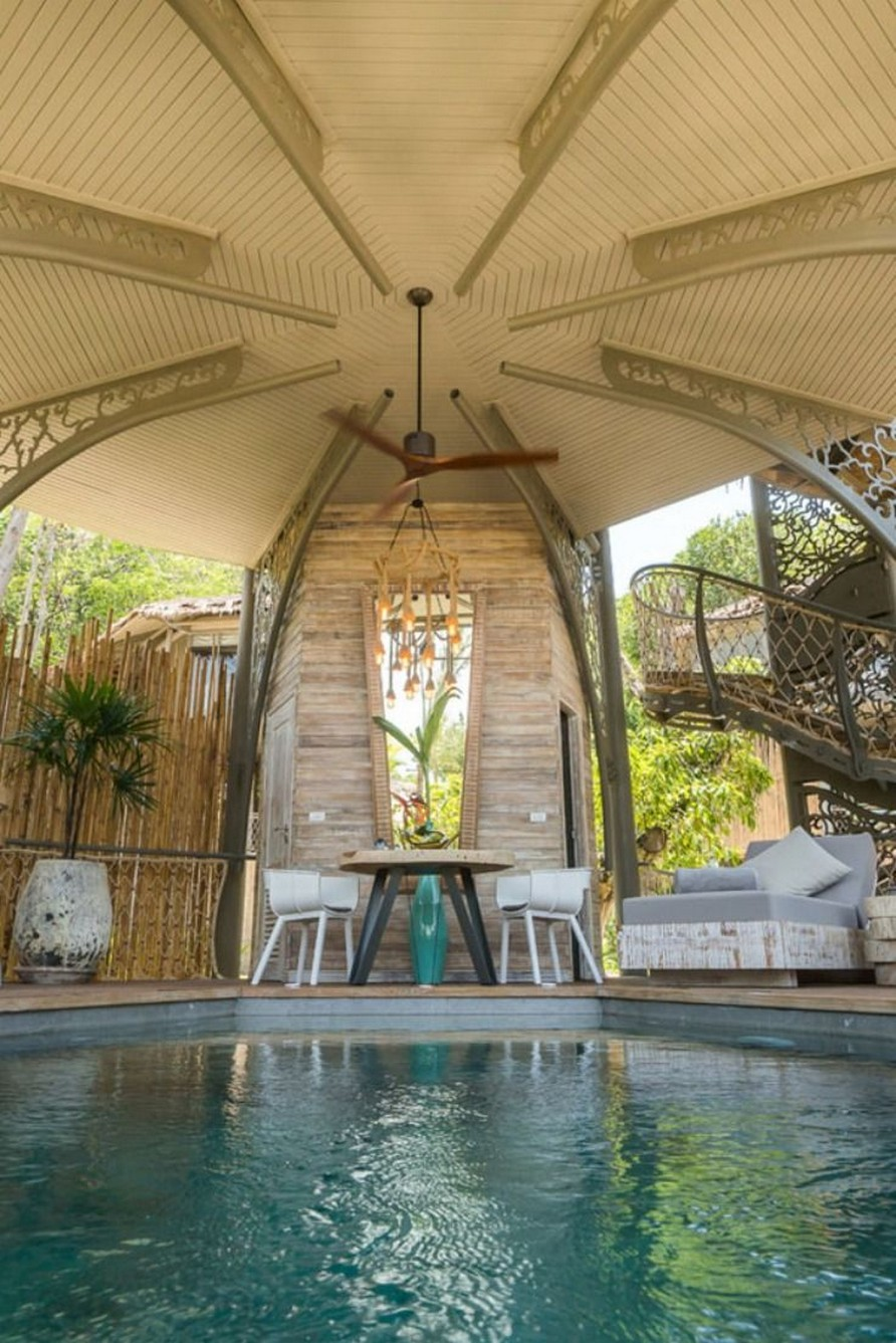 40 Fascinating Pool House Ideas 17