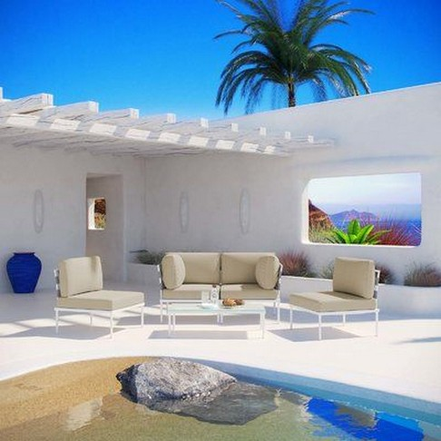 40 Fascinating Pool House Ideas 18