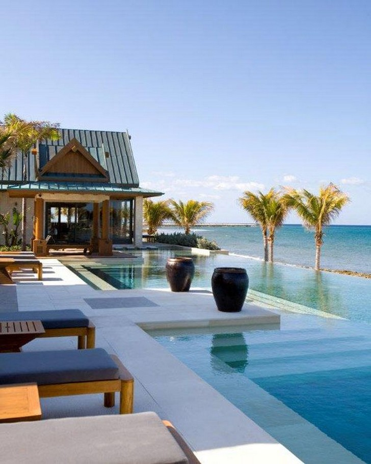 40 Fascinating Pool House Ideas 25