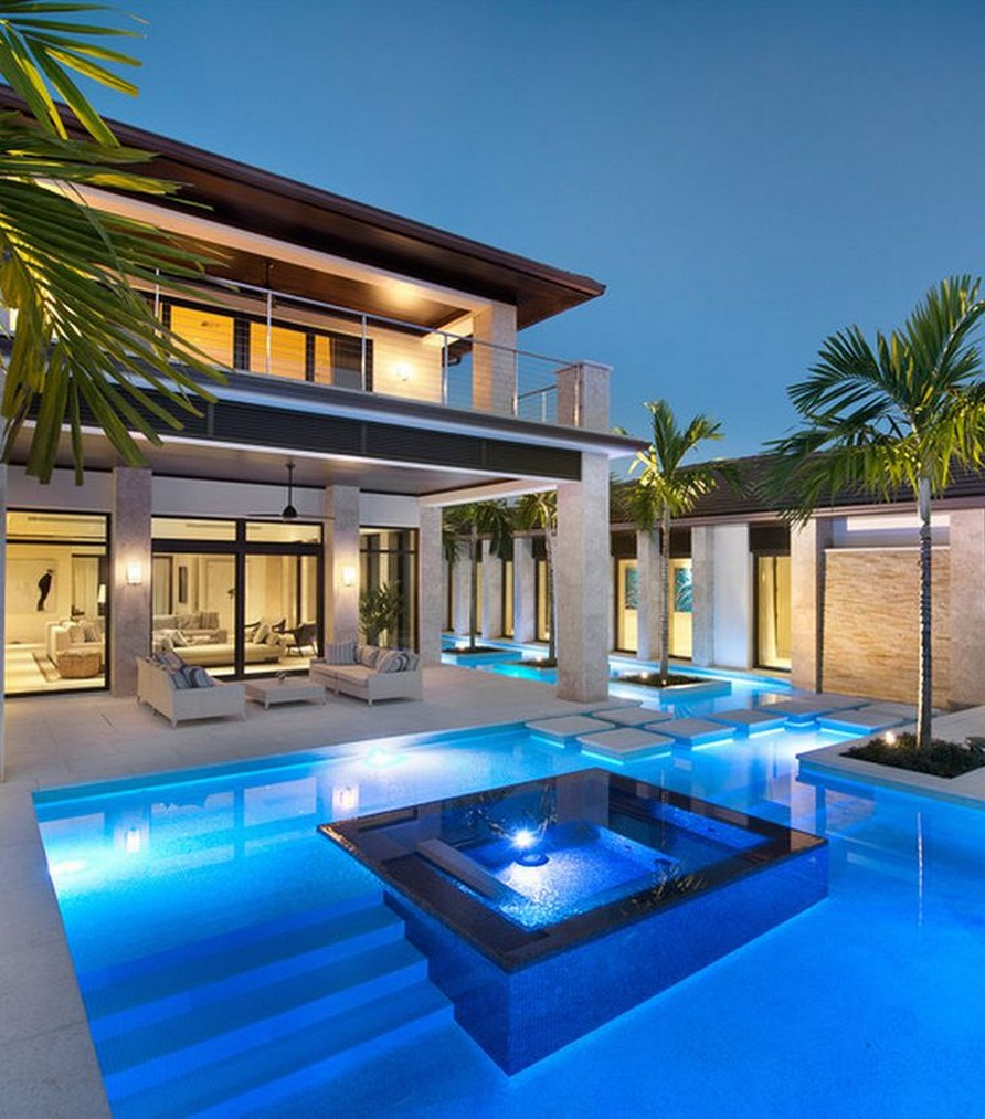 40 Fascinating Pool House Ideas 4