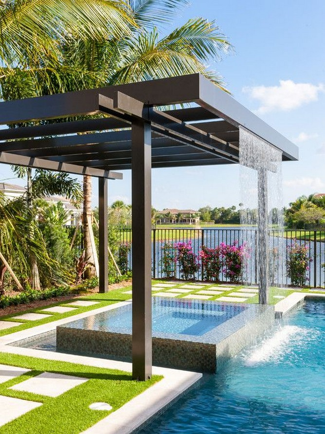 40 Fascinating Pool House Ideas 6