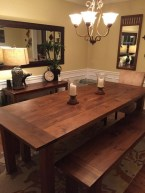 41 Rustic Dining Rooms That Will Make Your Farmhouse Shine 11
