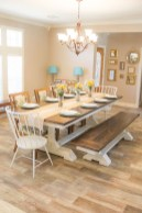 41 Rustic Dining Rooms That Will Make Your Farmhouse Shine 2