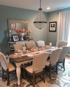 41 Rustic Dining Rooms That Will Make Your Farmhouse Shine 37