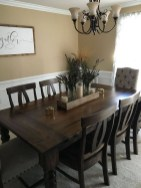 41 Rustic Dining Rooms That Will Make Your Farmhouse Shine 40