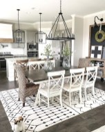 41 Rustic Dining Rooms That Will Make Your Farmhouse Shine 9