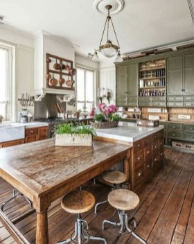 42 Stunning French Country Kitchen Decor Ideas 6