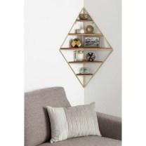 63 malta round wood wall shelf 14