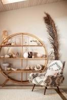 63 malta round wood wall shelf 26