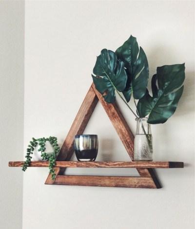 63 malta round wood wall shelf 3