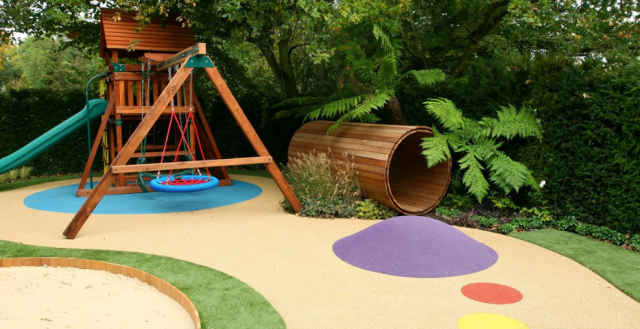 34 Best Backyard Ideas And Designs For Kids Playground In 2020