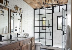 10 Farmhouse Bathroom Remodel Home Decor 16