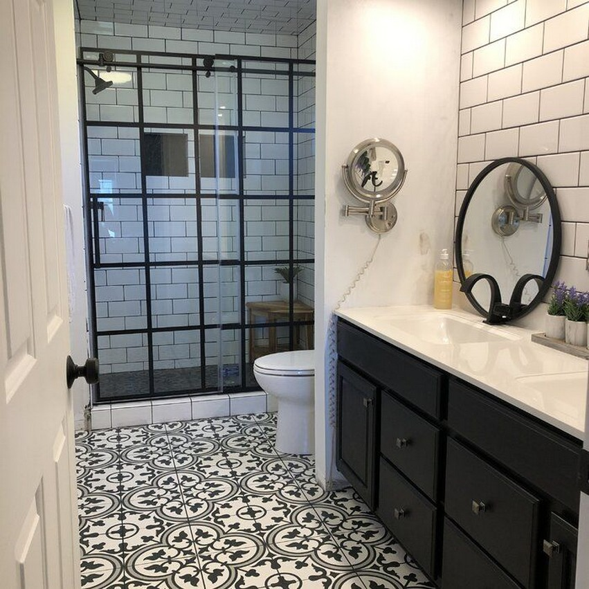 10 Farmhouse Bathroom Remodel Home Decor 2