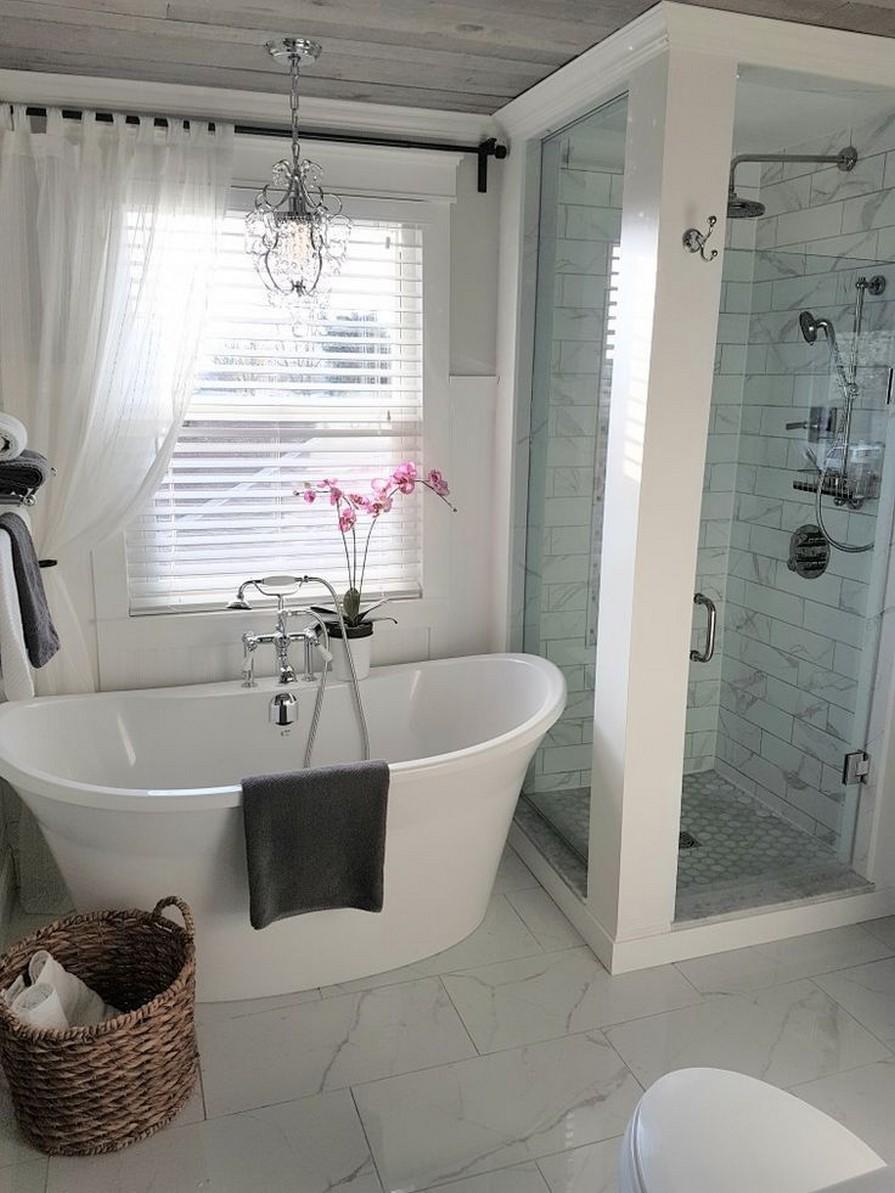 10 Farmhouse Bathroom Remodel Home Decor 7