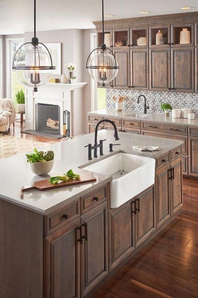 10 Farmhouse Kitchen Sinks Home Decor 8