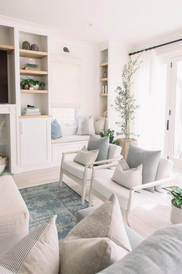 12 White Living Room Elegant Home Decor 11