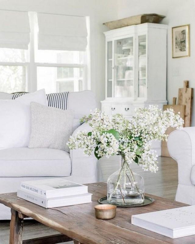 12 White Living Room Elegant Home Decor 19