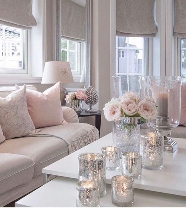 12 White Living Room Elegant Home Decor 4