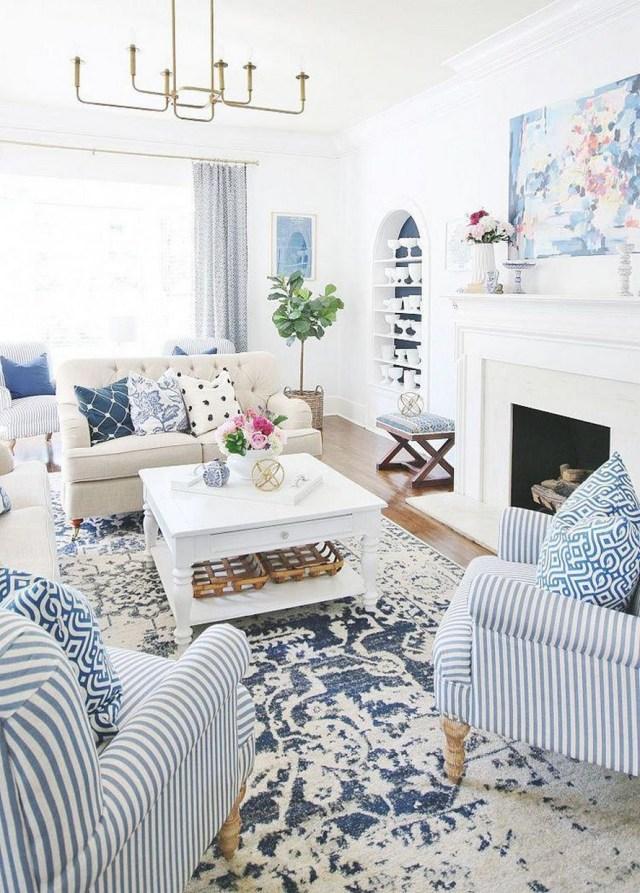12 White Living Room Elegant Home Decor 5