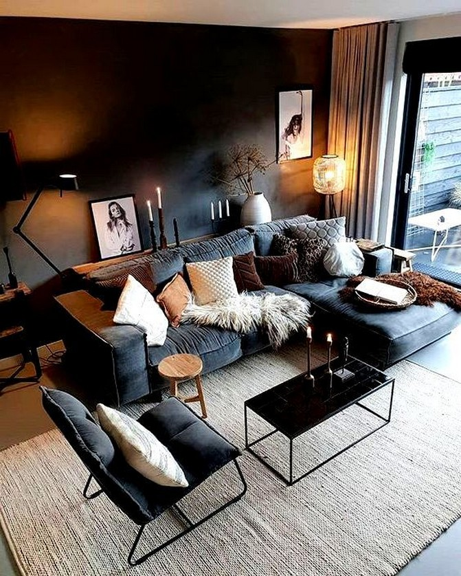 98 Living Room Decor Ideas For The Comfort Of Your Rest Home Decor 52